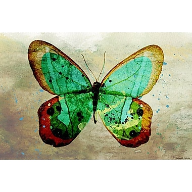 Maxwell Dickson ''Butterfly'' Graphic Art on Canvas; 40'' H x 60'' W