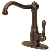 Pfister Marielle Single Handle Deck Mounted Bar Faucet; Rustic Bronze