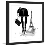 Marmont Hill 'Paris Always' by Alison Petrie Framed Painting Print; 54'' H x 54'' W x 1.5'' D