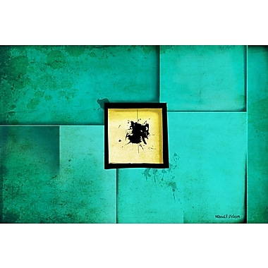 Maxwell Dickson ''Window'' Graphic Art on Canvas; 20'' H x 30'' W
