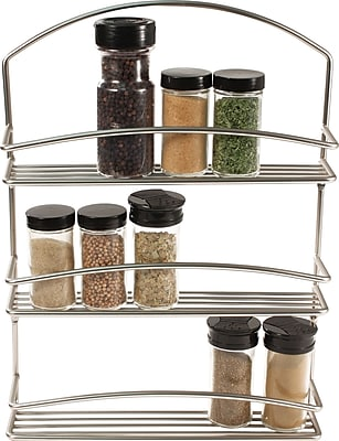 Spectrum Diversified Euro Wall Mount Spice Rack