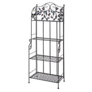 ABCHomeCollection Metal Storage Baker's Rack