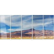 DesignArt 'Bright Argentina Mountain Region' 5 Piece Photographic Print on Canvas Set