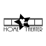 FiresideHome Home Theatre Sign Wall Decal