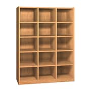 Ironwood Glacier 15 Compartment Cubby; Amber Ash