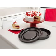Mrs. Fields by Love Cooking Fill N Flip Non-Stick Round Cake Pan