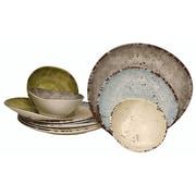 Melange 12 Piece Dinnerware Set (Set of 4)