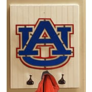 HensonMetalWorks Collegiate Logo Wood Coat Rack; Auburn University