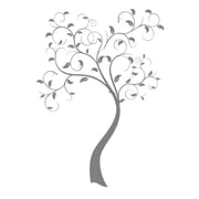 FiresideHome Tree Wall Decal; Silver Mist