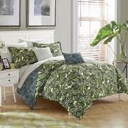 Stylehouse Palm Springs 8 Piece Reversible Comforter Set; Full