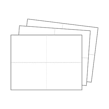 Kostklip® Perforated Sign and Label Paper, 4.25