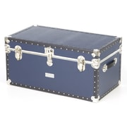 Seward Trunk Classic Blue Trunk w/ Full Tray; 31'' x 17'' x 15.25''