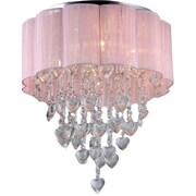 Warehouse of Tiffany Eos 6-Light Drum Chandelier