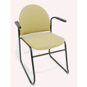 MLP Seating Endurance Stacking Chair w/ Cushion; With Arms