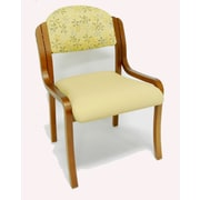 MLP Seating Supremacy Stacking Chair w/ Cushion; Without Arms
