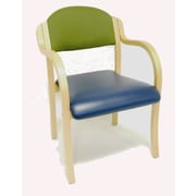 MLP Seating Supremacy Stacking Chair w/ Cushion; With Arms