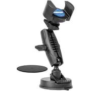 Arkon® TW Broadcaster Desk Mount for Single Phone, Black (RM179)