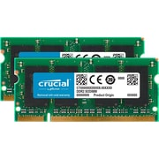 Crucial™ DDR2 SDRAM SoDIMM 200-pin DDR2-800/PC2-6400 Desktop/Laptop RAM Module, 4GB (2 x 2GB) (CT2K2G2S800M)
