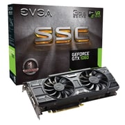 EVGA® GeForce GTX 1060 ACX 3.0 PCI Express 3.0 SSC Gaming Graphic Card, 3072MB (03G-P4-6167-KR)
