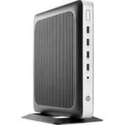 HP® t630 AMD G-Series GX-420GI 2 GHz Quad-Core 8GB Flexible Thin Client, Black/Silver (X4X21AT#ABA)