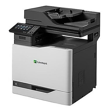 staples color printing cost per page - lexmark cx820de color laser multifunction printer