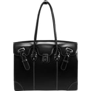 "McKlein USA® 96875 LECLAIRE Ladies Carrying Tote for 15.6"" Laptop, Black"