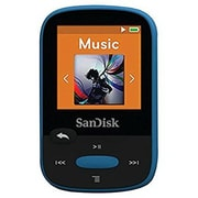 Sandisk SDMX24-008G-A46B Clip Sport 8GB MP3 Player, Blue