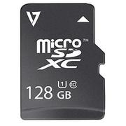 V7® Class 10/UHS-1 microSDXC Flash Memory Card, 128GB (VFMSD128GUHS1R-3N)