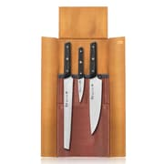 Cangshan Cangshan TG Series 4 Piece Knife Leather Roll Set