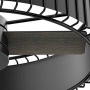 Hunter Fan 30'' Vault 3 Blade Fan w/ Handheld Remote; Gloss Black