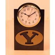 HensonMetalWorks NCAA Desktop Clock; Brigham Young University