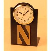 HensonMetalWorks NCAA Desktop Clock; Northwestern University