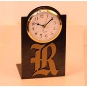HensonMetalWorks NCAA Desktop Clock; Rice University