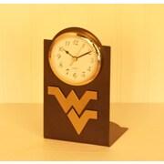 HensonMetalWorks NCAA Desktop Clock; West Virginia University