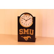HensonMetalWorks NCAA Desktop Clock; Southern Methodist University