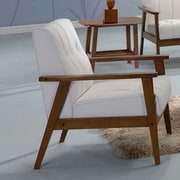 Kaleidoscope Furniture Aarhus Arm Chair; White