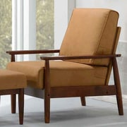 Kaleidoscope Furniture Bergen Arm Chair; Bombay Brown