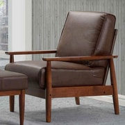 Kaleidoscope Furniture Bergen Arm Chair; Dark Brown