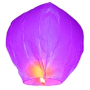 Luminarias Sky Lantern (Set of 4); Purple