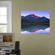 Wallhogs Mountain/Lake Scene Glossy Poster