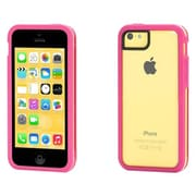 GriffinColor Basics Identity 2-Piece Case for Apple iPhone 5c, Pink/Clear (GB39185)