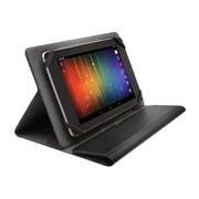 "KensingtonK97331WWA Portafolio Fit™ Silicone/Microfiber Universal Folio Case for 7"" - 8"" Tablets, Black"