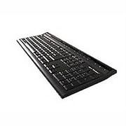 KeytronicWired USB Ultra Slim Keyboard, Black (K9.3)