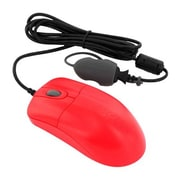 Seal Shield™ Silver Storm™ Wired Waterproof Optical Medical Mouse, Red (STM042RED)