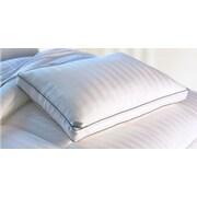 Essentials 300 Thread Count Bamboo Viscose Mulit-Pinstripe Down Alternative Polyfill Queen Pillow