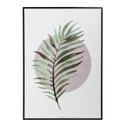 Bloomingville Metal Framed Fern Wall Art