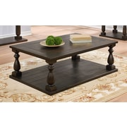 BestMasterFurniture New Hampshire Cappuccino Coffee Table