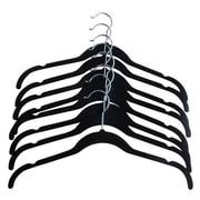Closet Spice Velvet Blouse Hanger (Set of 8); Black