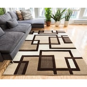 Well Woven Imagination Square Ivory/Brown Area Rug