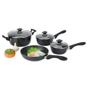Alpine Cuisine Cast Aluminum Nonstick 7-Piece Cookware Set